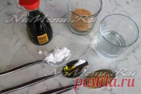 Соус терияки в домашних условиях, рецепт с фото