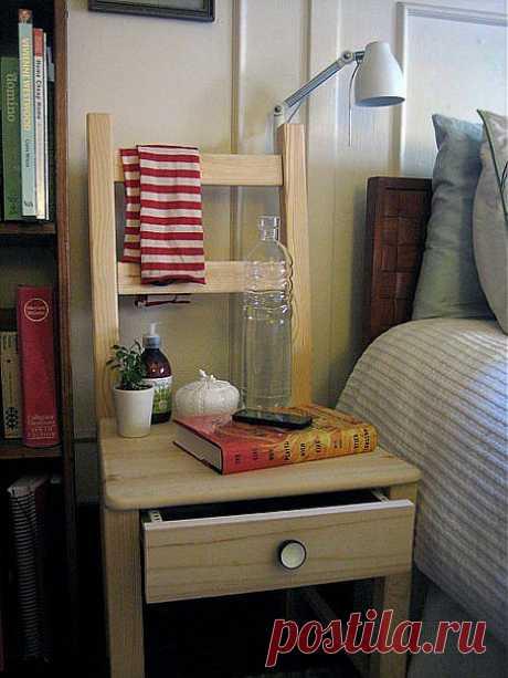 Полезная модификация стула от IKEA.