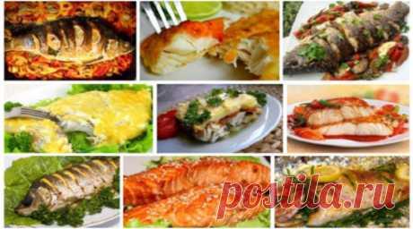 Рыбный ужин: 9 лучших рецептов