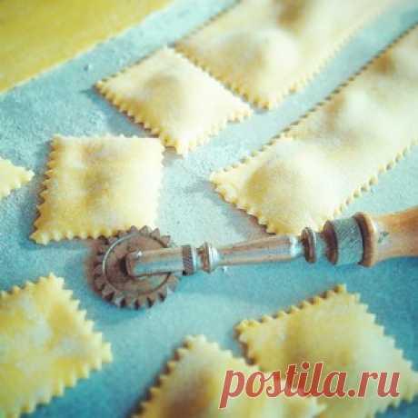 Тесто для лазаньи, равиоли, тальятелле - кулинарный рецепт