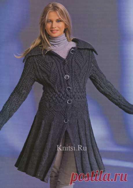 Альбом «Вязаные пальто. Вязание спицами. Сборник» 2011год