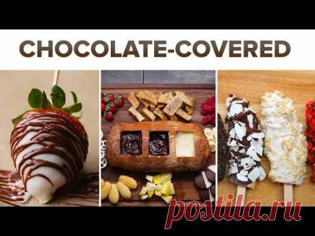 6 рецептов: фрукты в шоколаде. Пальчики оближешь!
