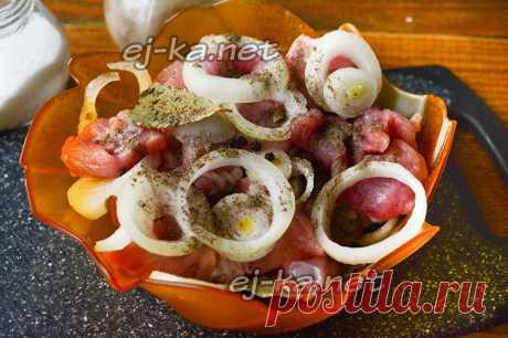 Обалденный маринад для шашлыка из свинины: рецепт с фото пошагово