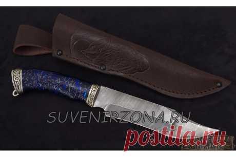 Купить нож из дамасской стали «Окунь 3» Москва