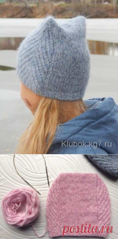 "Шапочка ""Meow Meow Hat""by Tanya Mulokas   Клубок"