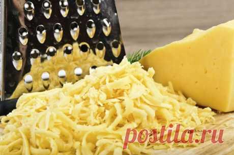 Как натереть сыр на терке профессионально