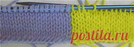 Grade levels to jacquard knitting.