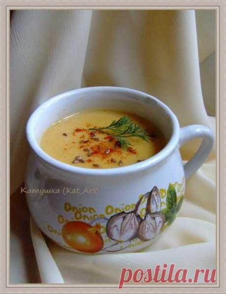 Суп-пюре из картофеля и кабачков | Русская кухня