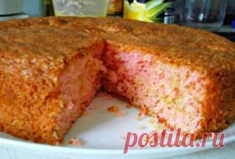 Уникальный торт, который готовится из сухого киселя