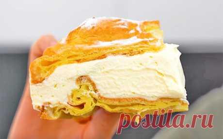 Торт с заварным кремом «Карпатка» | Рецепты на SuperKuhen.ru