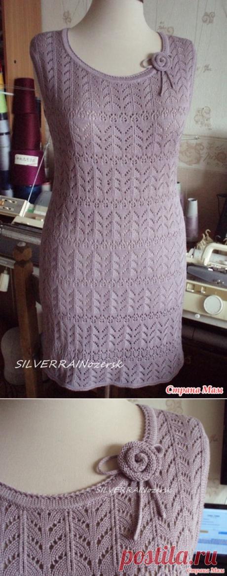 Ажурное платье - Вязание - Страна Мам