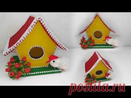 Ide Kreatif - Hiasan Rumah Dari Kardus || Sangkar Burung || Home Decorating Ideas Handmade