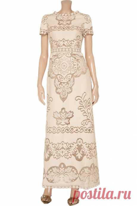 """Сухоцветы from Valentino - fillet крючком&quot dresses;"