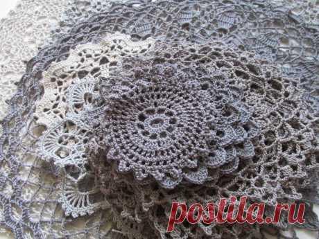 Napkins for a dress from Lyudmila Buzyreva