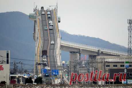 Самый страшный мост находится в Японии