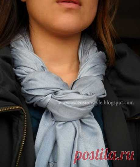 Cпособы ношения платков и шарфов - Красота, вдохновленная природой — LiveJournal