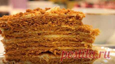 """Тот самый торт """"Рыжик"""" Торт """"Рыжик"""" удивительно вкусный, никого не оставит равнодушным, он такой нежный и хочется мне на него сказать ласковый!"""