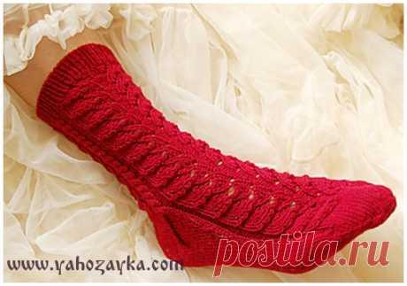 Ажурные носки спицами с мыска. Как вязать носки от мыска Ажурные носки спицами с мыска. Как вязать носки от мыска