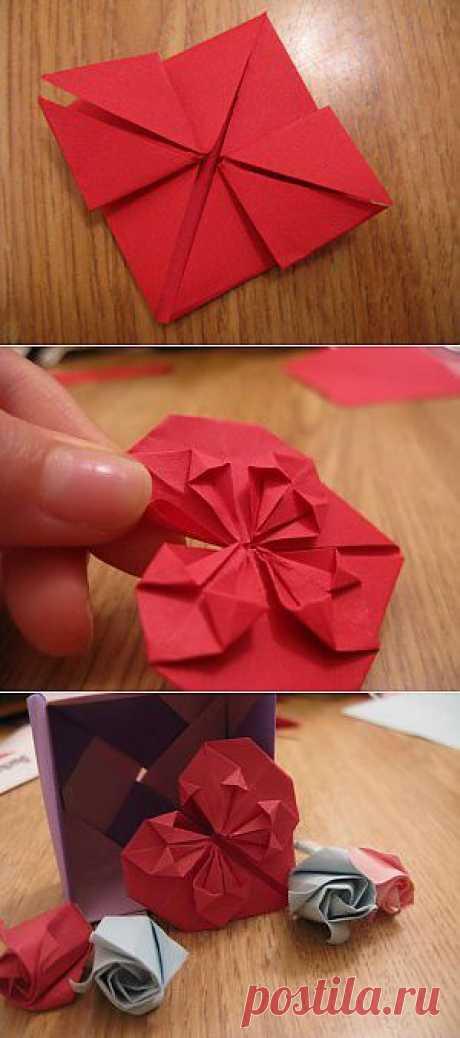 El corazón del origami. KRIP el MOSQUEADO