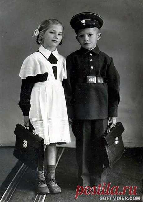 Во что одевались советские школьники | Жизнь в СССР