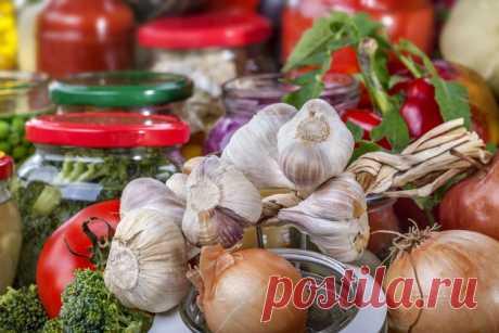 Как консервировать чеснок: несколько правил + рецепт - кулинарный пошаговый рецепт с фото на KitchenMag.ru