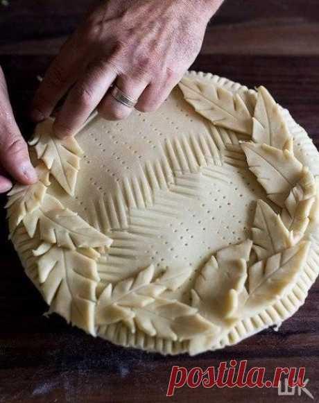 Интересная Идея Для Пирога 😃 Обалдеть какой результат выходит!