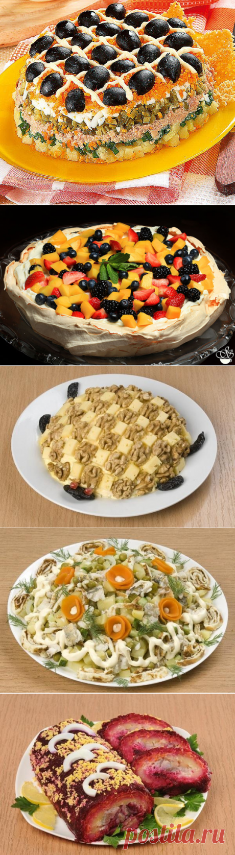 7 самых популярных новогодних салатов