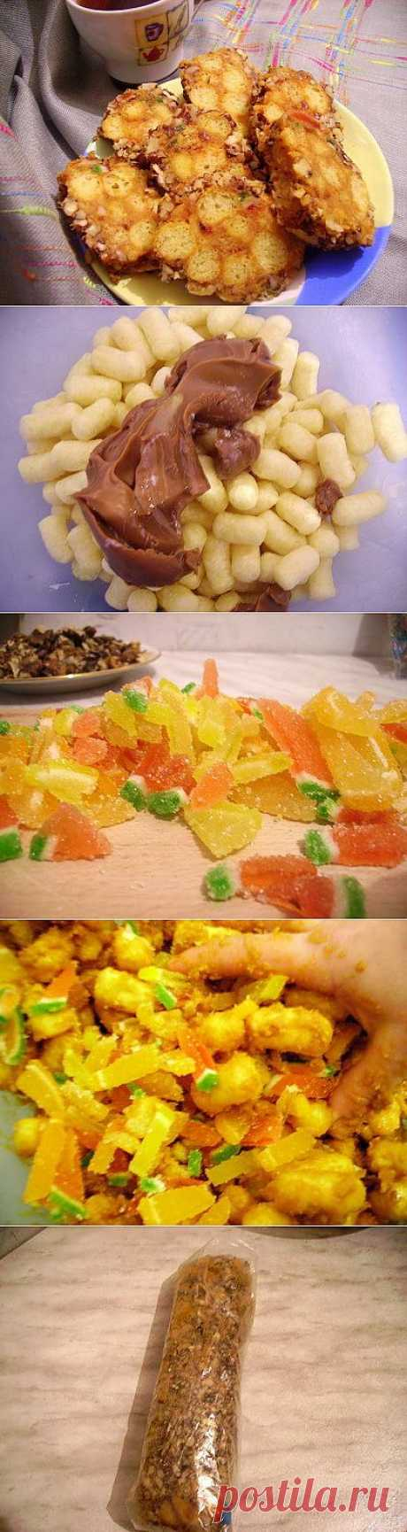 Блоги@Mail.Ru: Вкусняшка из кукурузных палочек