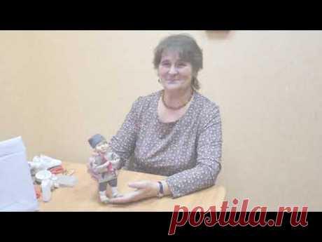 """Мастер-класс В.Ребровой """"Сувенирная кукла по мотивам артельных кукол"""""""