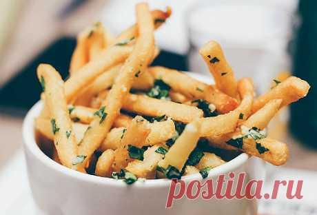Домашняя картошка фри с зеленью | Новости, обзоры, акции в интернет-магазине TOP SHOP