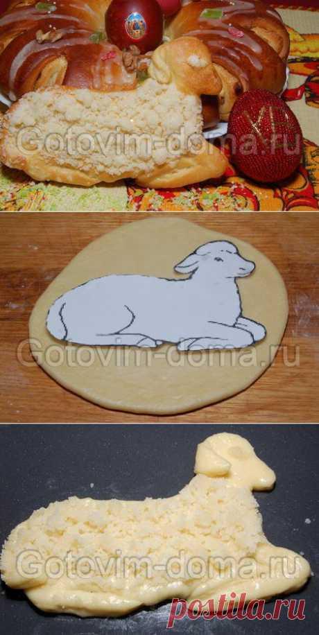 Рецепт: Пасхальный ягненок