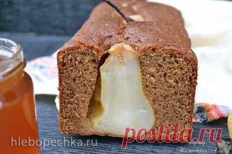 Имбирный кекс с грушами и сиропом - Хлебопечка.ру