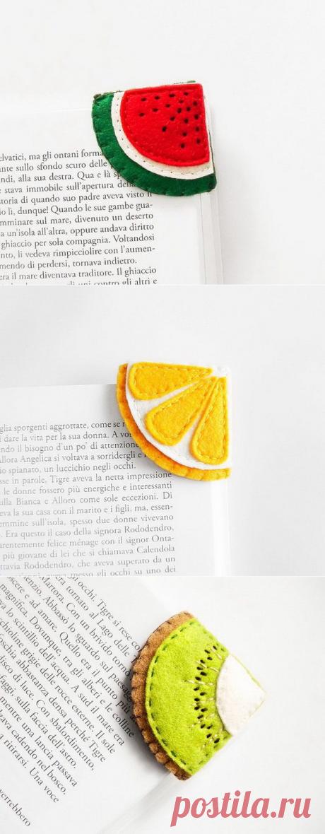 Креативные закладки для книг