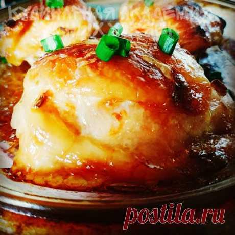 Кулинарная Академия Умных Хозяек: Курица запечённая в необычном маринаде по-михайловски