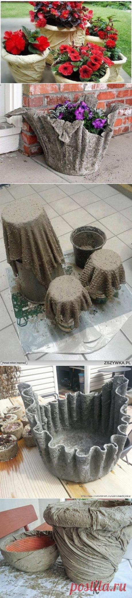 Она замочила полотенце в цементе...есть идея!!!!!