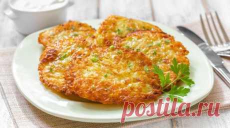 Картофельные драники - самые лучшие и вкусные рецепты. Как правильно и вкусно приготовить картофельные драники.