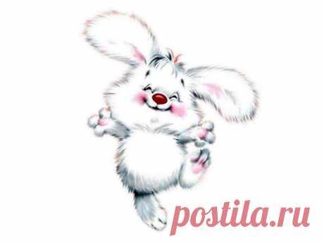 Схемы зайчиков и кроликов / Схемы вышивки крестиком / PassionForum - мастер-классы по рукоделию