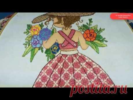 [Puntada Fantasía] Vestido niña con flores | Un Mundo Maravillisa