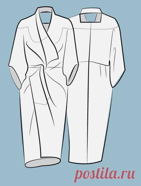 Как скроить платье без отходов (Diy) Модная одежда и дизайн интерьера своими руками