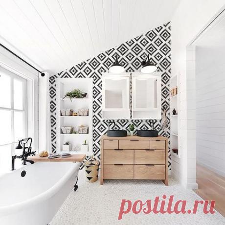 Ванная комната в скандинавском стиле. Шикарные примеры!   Интерьер-школа Иоланты Федотовой   Яндекс Дзен