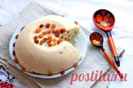 Пасха из рикотты и маскарпоне с миндалем рецепт – выпечка и десерты. «Еда»