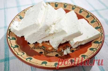 Готовим сыр «Фета»: очень просто, вкусно и полезно!