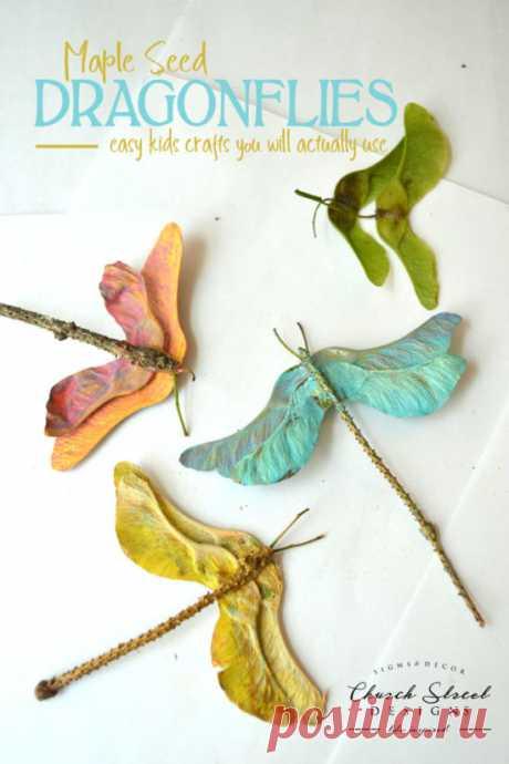 Maple Seed Dragonflies-Черч-Стрит Дизайн