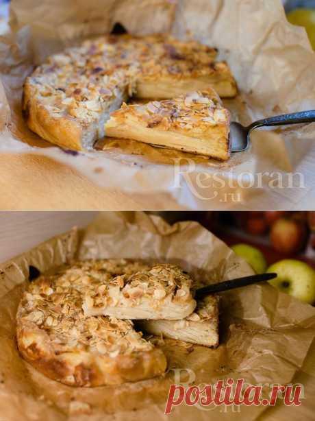 Французкий яблочный пирог.