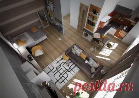 Лайфхаки для обустройства однокомнатной квартиры