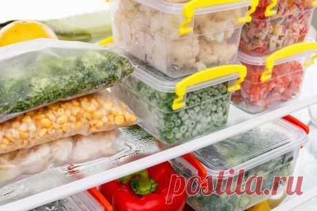 ТОП-50 продуктов, которые можно замораживать впрок | Кулинарные записки обо всём | Яндекс Дзен