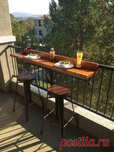 Барная стойка для балкона своими руками | flqu.ru - квартирный вопрос. Блог о дизайне, ремонте