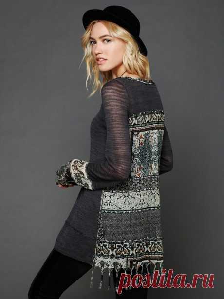 Рубашки из рубашек / Блузки / ВТОРАЯ УЛИЦА - Выкройки, мода и современное рукоделие и DIY