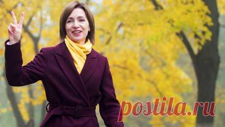 Санду заявила, что при ней Молдавия построит прагматичный диалог с РФ и США - Газета.Ru | Новости