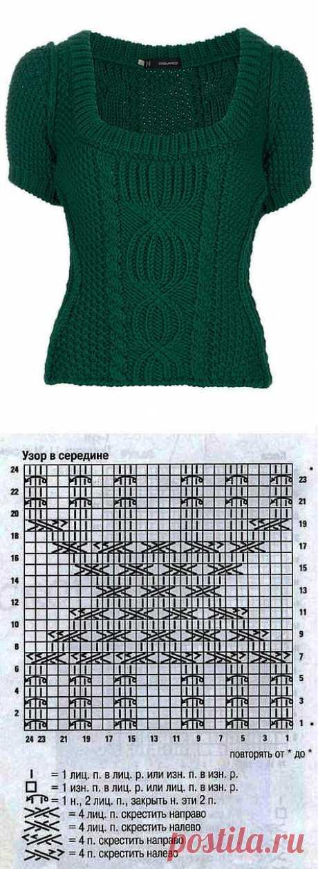 пуловер(узор).